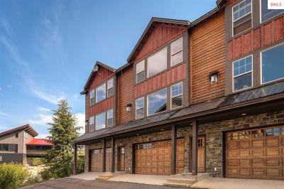 Sandpoint Condo/Townhouse For Sale: 80 Whiplash Circle