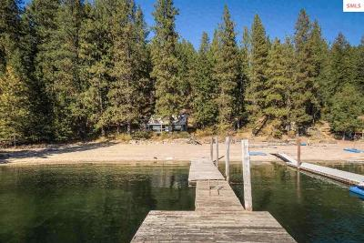 Coeur D'alene Single Family Home For Sale: 1460 W Swede Bay Road