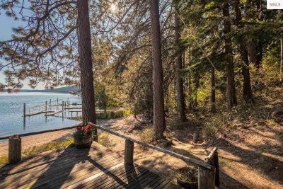 Coeur D'alene Single Family Home For Sale: 1460 W Swede Bay Rd