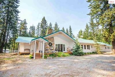 Sagle Single Family Home For Sale: 1646 S Sagle Rd
