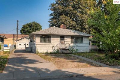 Coeur D'alene Single Family Home For Sale: 1512 N 3rd St