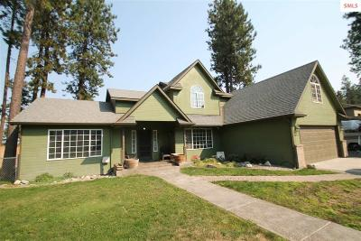 Coeur D'alene Single Family Home For Sale: 4729 W Woodside Ave