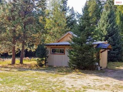 Bonners Ferry Single Family Home For Sale: 533586 Highway 95