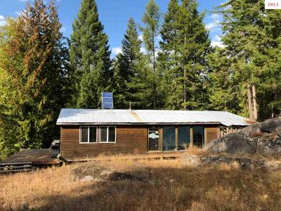 Sandpoint ID Single Family Home For Sale: $98,000