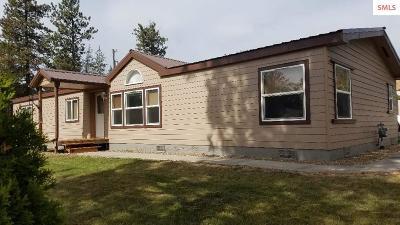 Rathdrum Single Family Home For Sale: 15219 N Stevens St.