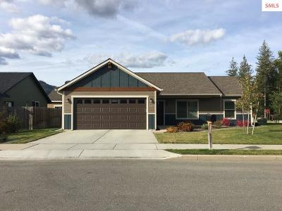 Sandpoint Single Family Home For Sale: 3121 Spring Creek Way