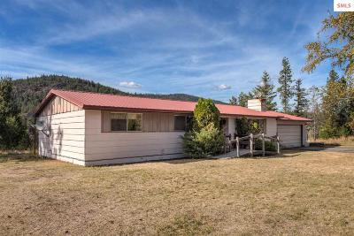 Sagle Single Family Home For Sale: 466220 Hwy 95
