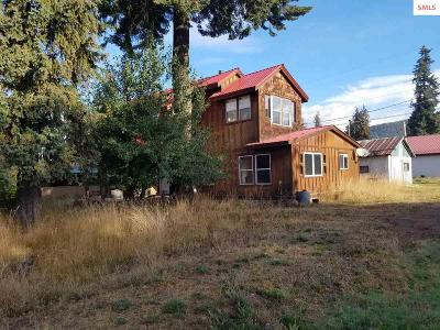 Clark Fork Single Family Home For Sale: 217 3rd