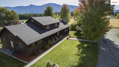 Bonners Ferry Single Family Home For Sale: 1905 Paradise Valley Rd.