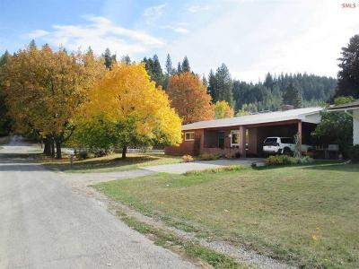 Bonners Ferry Single Family Home For Sale: 6526 Grant Street