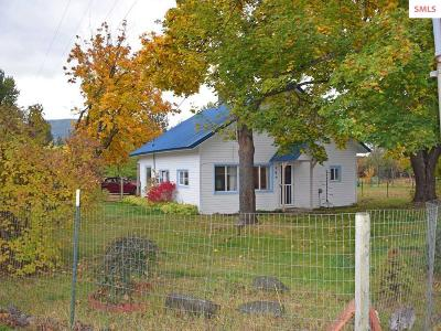 Moyie Springs Single Family Home For Sale: 146 Canyon View Rd