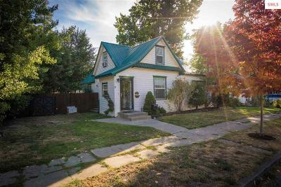 Coeur D'alene Single Family Home For Sale: 526 E Reid