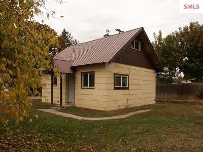 Bonners Ferry Single Family Home For Sale: 6929 Boise St