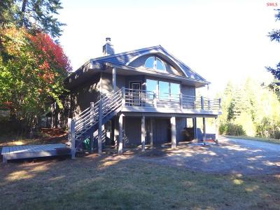 Sandpoint Single Family Home For Sale: 1187 McGhee Rd