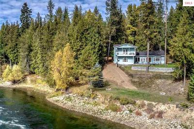 Clark Fork ID Single Family Home For Sale: $535,000