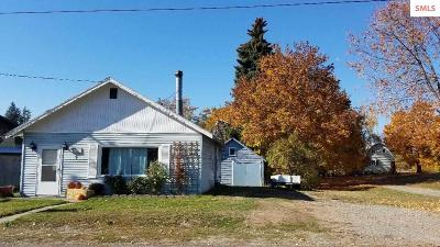 Bonners Ferry ID Single Family Home For Sale: $154,000