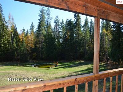 Sandpoint Single Family Home For Sale: 11647 Baldy Mountain Road