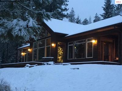 Bonners Ferry ID Single Family Home For Sale: $525,000