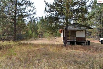 Oldtown ID Single Family Home For Sale: $75,000