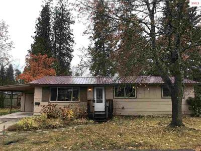 Sandpoint Single Family Home For Sale: 1125 Erie