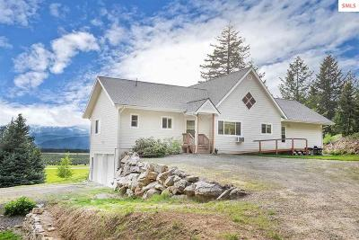 Sandpoint ID Single Family Home For Sale: $599,000