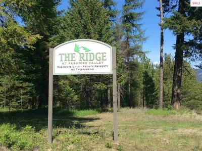 Bonners Ferry Residential Lots & Land For Sale: Lot 2 The Ridge Pinnacle Circle