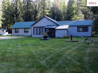 Ponderay Single Family Home Contingent W/Bump Clause: 478165 Highway 95