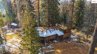 Sandpoint Single Family Home For Sale: 3901 Upper Gold Creek Road