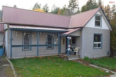 Bonners Ferry Single Family Home For Sale: 6926 Oak St