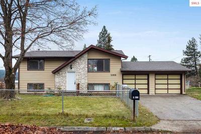 Coeur D'alene ID Single Family Home For Sale: $220,000