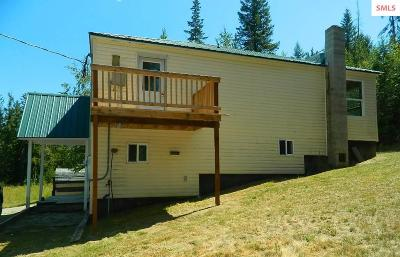 Bonner County, Boundary County, Kootenai County Single Family Home For Sale: 3183 Eastside Rd