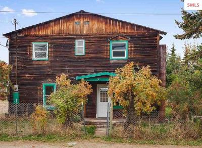 Bonner County, Boundary County, Kootenai County Single Family Home For Sale: 705 Main St