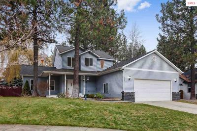 Coeur D'alene Single Family Home For Sale: 5487 N Martha Lp