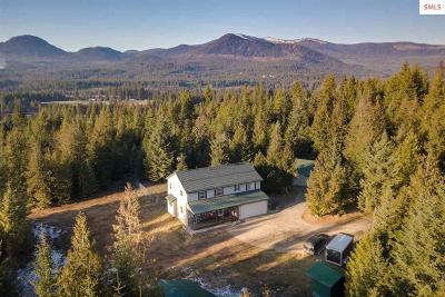 Sagle Single Family Home For Sale: 791 Muskrat Lk
