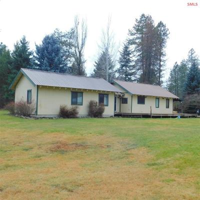 Oldtown ID Single Family Home For Sale: $300,000