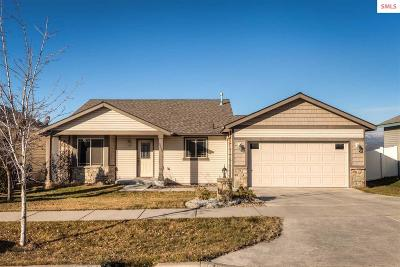 Bonner County, Boundary County, Kootenai County Single Family Home For Sale: 3259 N Treaty Rock