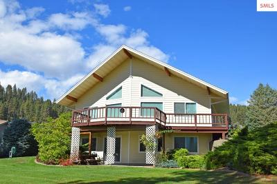 Bonner County, Boundary County, Kootenai County Single Family Home For Sale: 7492 Vista Dr