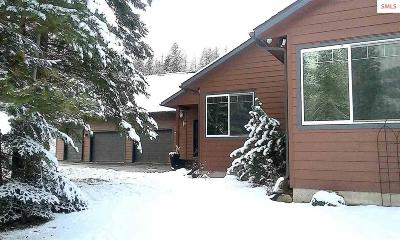 Bonner County, Boundary County, Kootenai County Single Family Home For Sale: 194 Buck Run