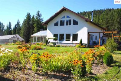 Moyie Springs Single Family Home For Sale: 286 Enchanted Lane