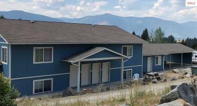 Bonners Ferry Multi Family Home For Sale: 6958, 6956 Evergreen St