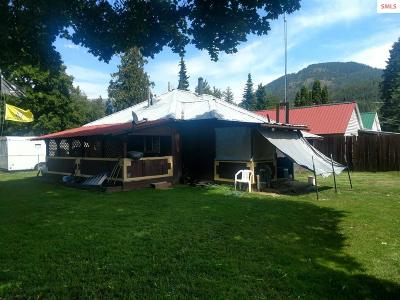 Clark Fork ID Single Family Home For Sale: $131,000