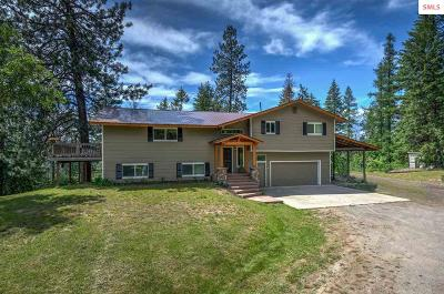 Cocolalla Single Family Home For Sale: 655 Blacktail Rd.