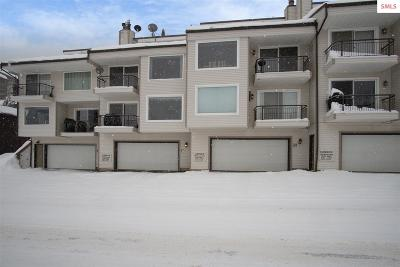 Sandpoint Condo/Townhouse For Sale: 8766 Schweitzer Mountain Rd. #303