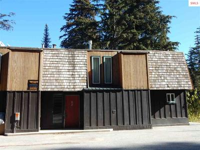 Mountainside, Schweitzer Condo/Townhouse For Sale: 169 Snowplow Rd. #6