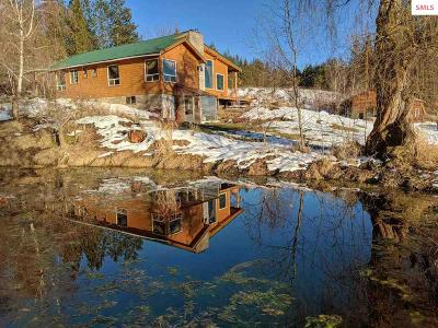 Moyie Springs Single Family Home For Sale: 189 Silver Springs