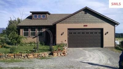 Bonners Ferry Single Family Home For Sale: 6854 Kaniksu