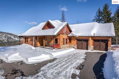 Sandpoint ID Single Family Home For Sale: $988,000