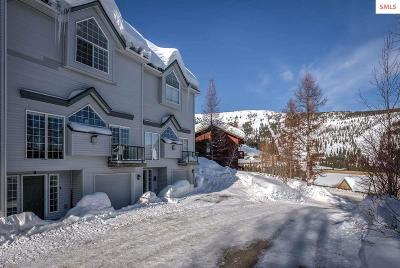 Bonner County Condo/Townhouse For Sale: 58 Ullr Lodge