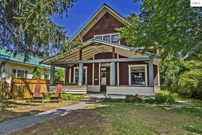 Sandpoint Single Family Home For Sale: 614 N 4th Ave.