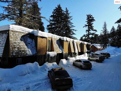 Sandpoint Condo/Townhouse For Sale: 169 Snowplow Rd. Unit 1